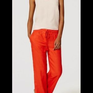 Great linen pants with a draw string! Casual/comfy
